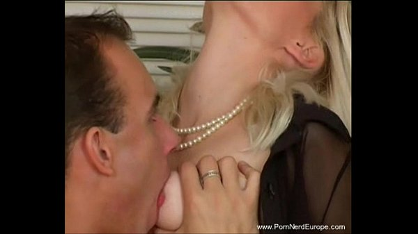 Classy Blonde European MILF Rough Sex