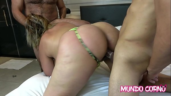 (ANAL) - INSATIABLE WIFE FUCKING WITH TWO YOUNG...