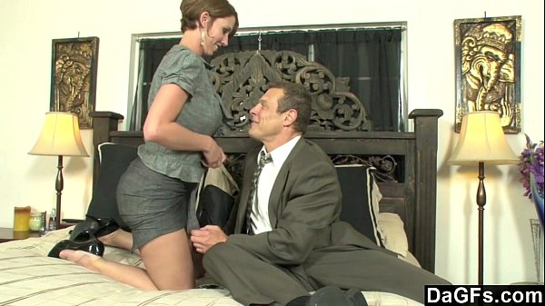 Busty secretary horny for some austrian cock