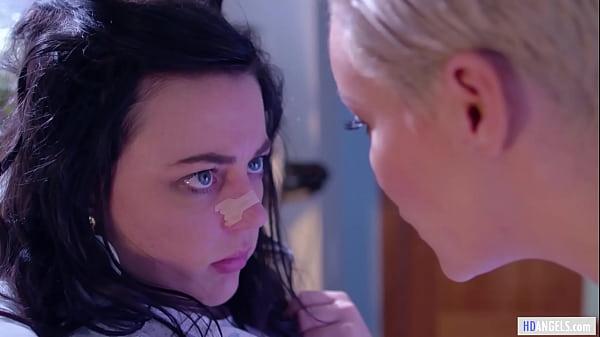 Strange Hospital  With Lesbian Nurses and Doctors - Whitney Wright, Casey Calvert, Ryan Keely and Sarah Vandella Thumb