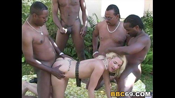 BBC Orgy With Olivia Saint