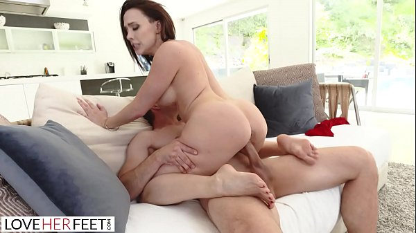 LoveHerFeet - Lusty MILF Gets Her Pussy Nailed ...