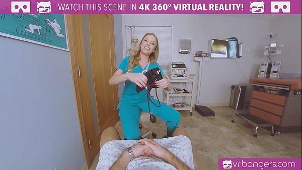 VRBangers.com-Busty Nurse seducing you to fuck ...