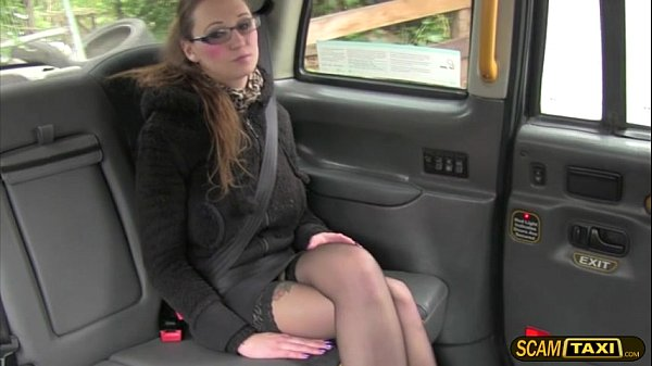 Horny hot chick Demona gets a free hot ride and gets facial