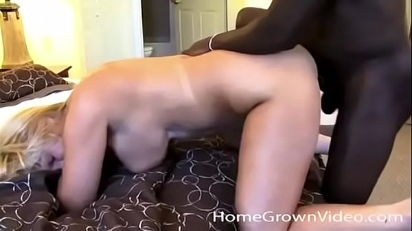 Busty amateur milf ass fucked by a hung black stud