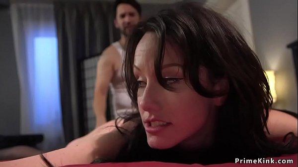 Pervert anal fucks brunette roomie bdsm Thumb