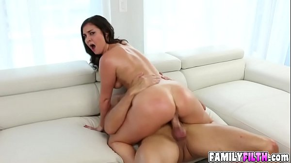 Horny Brittany Shae with a huge meaty dick