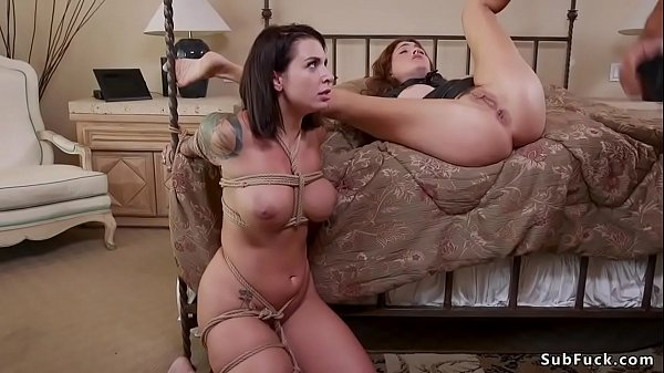 Dude fucks two anal step sisters bdsm