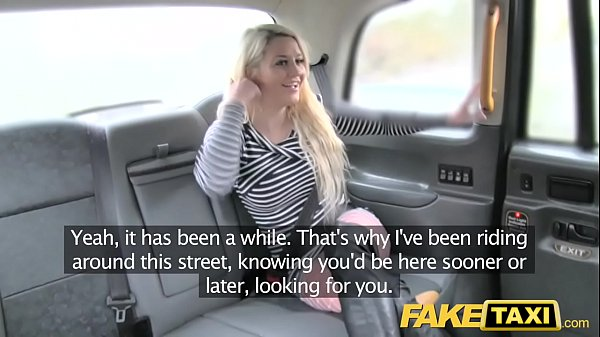 Fake Taxi crazy sex for blonde in fishnets anal...