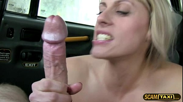 Hunk driver fucks his horny passenger in the backseat