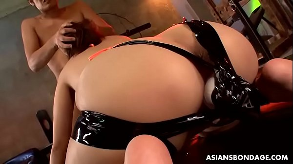 Nene Masaki was drooling while getting fresh cum in mouth