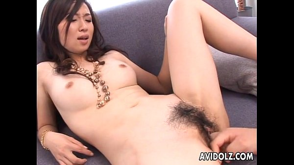 Asian hottie getting down with dirty vibrator