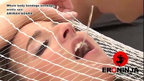Whole-Body Bandage bondage,erotic Amira Adara