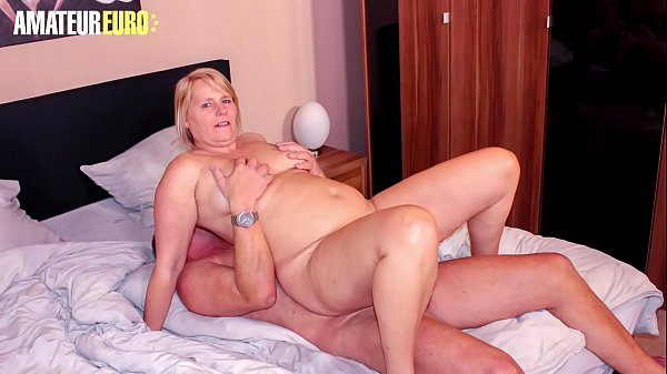 AmateurEuro - Big Tits Blonde Wife Fucks For Th...