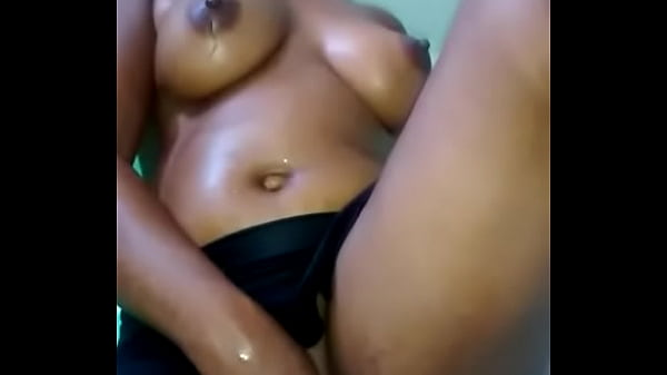 Horny Ebony MLF Fucking Herself And Squirting