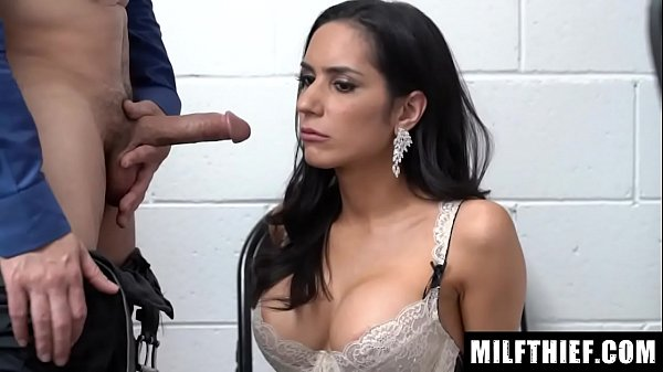 Curvy Mom Is Detained And The Stolen Edible Underwear Is Found On Her Body - Tia Cyrus Thumb