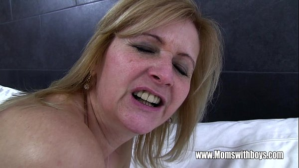 Young Stud Fucks His Mature Maid Catching Him W...