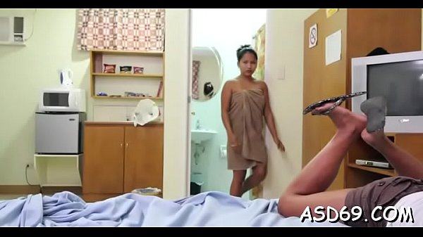 Fucking a smooth thai pussy