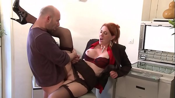 Young secretary ass fucked by mature man.