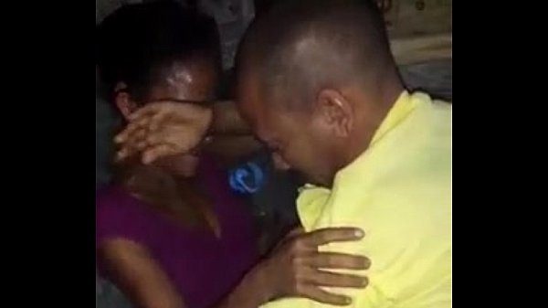 Ebony fuck with old man in the floor
