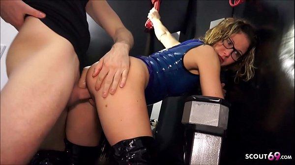 German Female Teacher Izzy Mendosa Love to get Latex Slavegirl and Fuck
