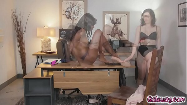 Ana Foxxx eats out Casey Calverts pussy like a champ blowing her mind to get the job