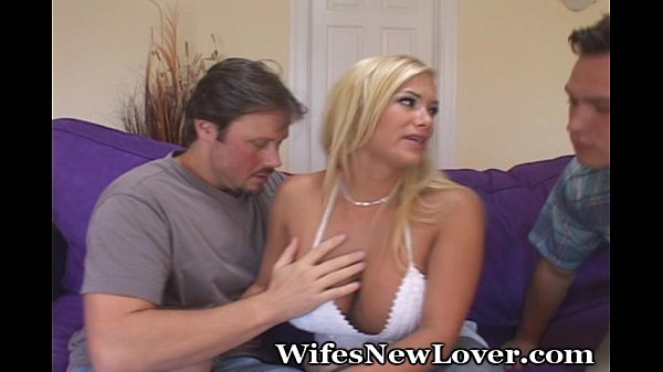 Hubby Is Excited To See His Wife Fuck Another