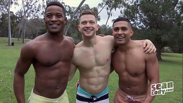 (Landon, Deacon, Asher Bareback) - Gay Movie - Sean Cody