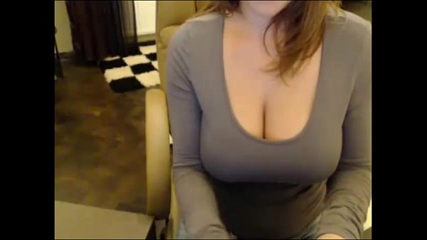 Milf stripping and touching herself