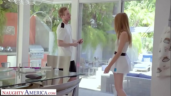 Naughty America - Tennis instructor gets lucky and fucks his client, Ashley Lane Thumb