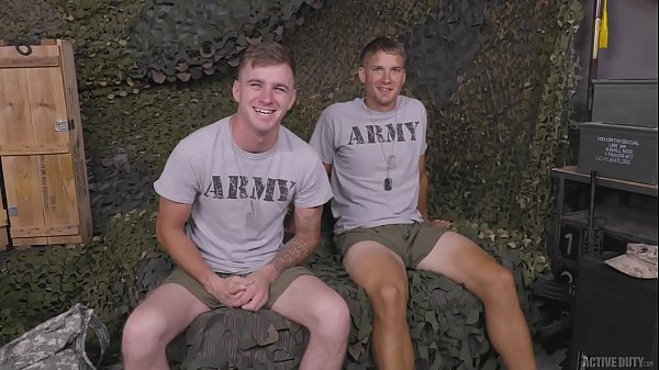 Military Jocks Ryan Jordan & Brandon Anderson Full Scene – ActiveDuty