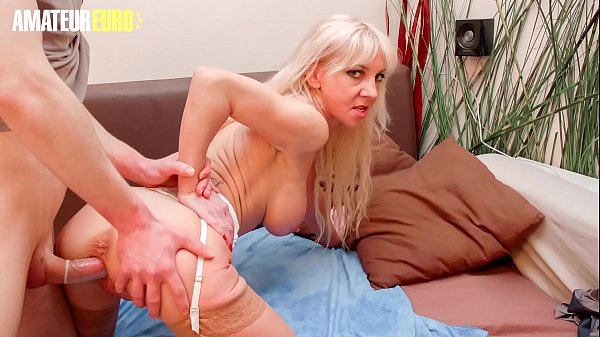 AMATEUR EURO - Hot French Mature Therese Dune Takes Young Big Cock Of Her Stepson