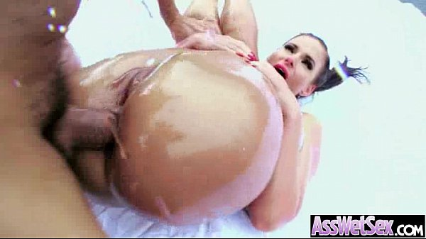 Hot Ass Girl Get Oiled All Up Then Hard Banged vid-28