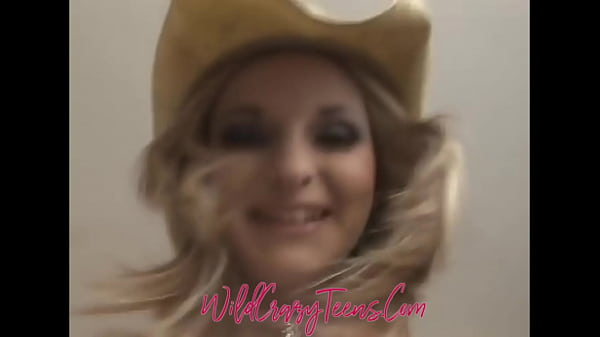 Blonde Teen Cowgirl Blessed w/most PerfectTits You will EVER see!!