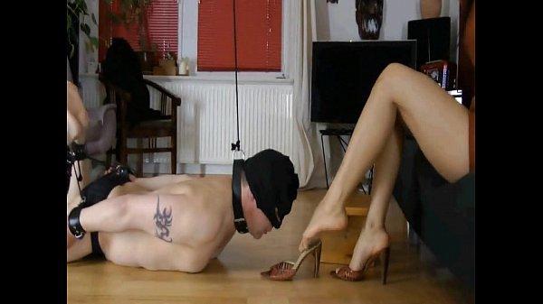 Femdom Action - German Goddess Leyla Dominates Her Slave Thumb