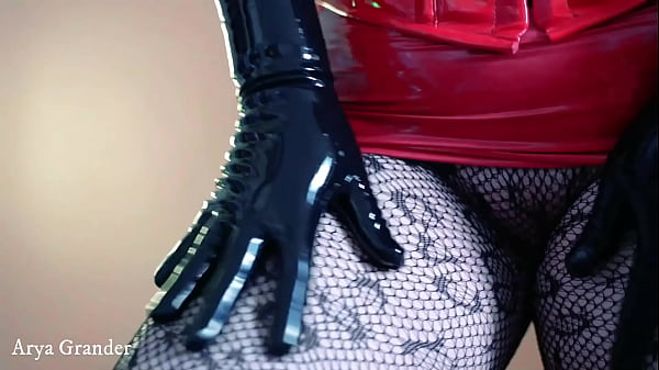 Latex Rubber Gloves video fetish bdsm tease
