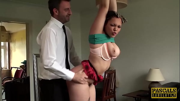 PASCALSSUBSLUTS - Submissive Kloe White Dominated By Pascal