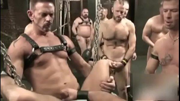 gangbang and piss orgy