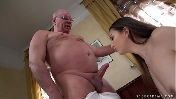 Old prof seduces y. student Anya Krey Thumb