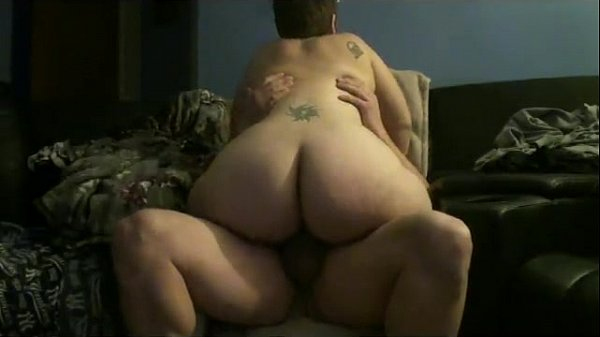 Pawg rides hard cock