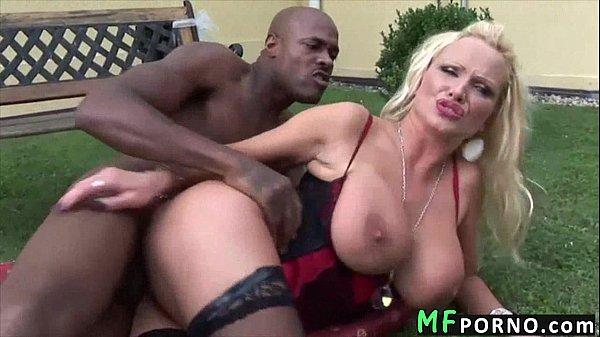 Big black dick vs hot blonde Sharon Pink 5