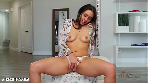 Lilly Hall cums all over her toy for you