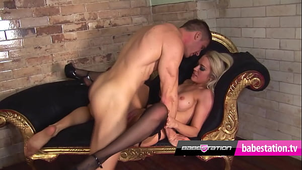 Babestation sex in stockings with Xena & Marc Thumb