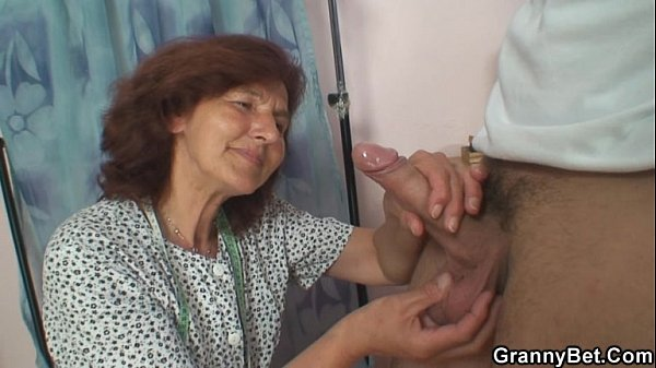 Riding enjoys cock young granny sewing have