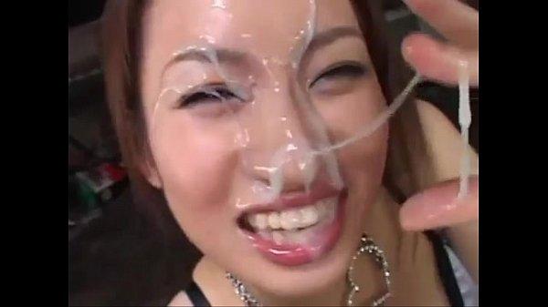 Cum on asian girls (Cumshot Compilation