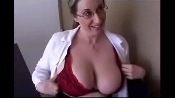 Fucking with a busty secretary MILF