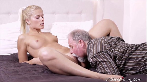 Old Goes Young - Elena can't believe how good this old man is at having sex Thumb