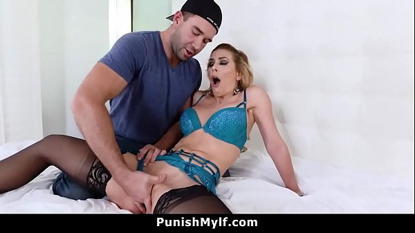 Step Mom Cherie Deville Busted Cheating Tied Out and Fucked Thumb