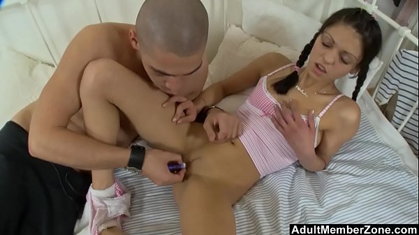 Stimulating Her Clit Until She Squirts All Over