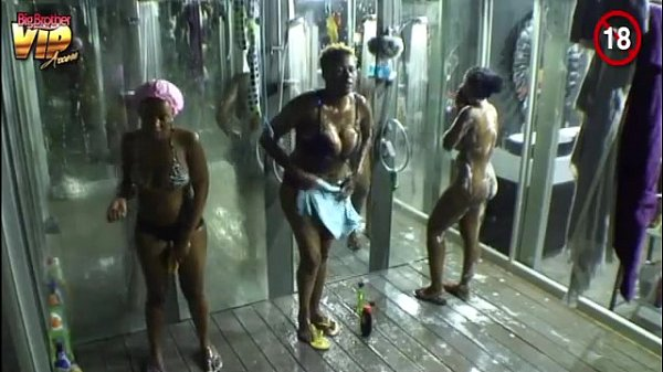 Big Brother Africa Hotshots Shower Hour - Goitse Butterphly Sipe Luis